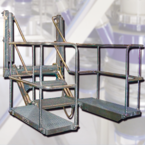 LIS-klap-SILO safety folding stairs